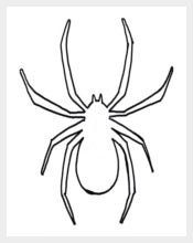 Outline of a Spider Templates