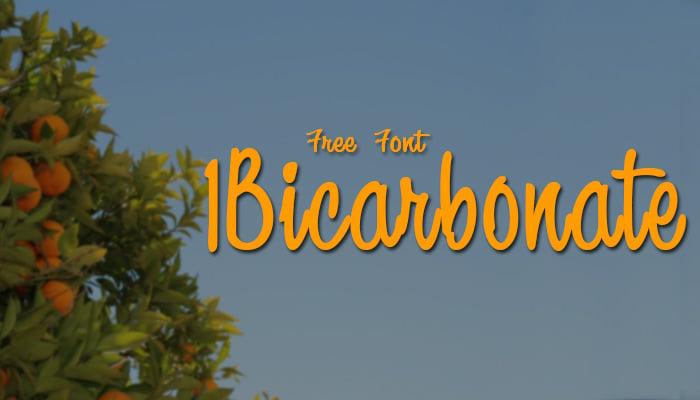 1 Bicarbonate D...