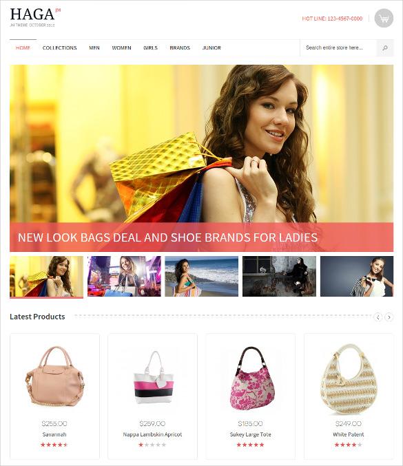 free online fashion store magento theme