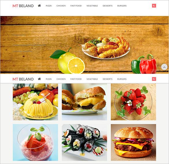 responsive parallax restaurant magento theme