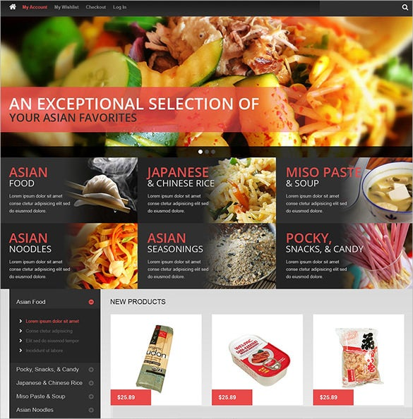 asian restaurant magento theme