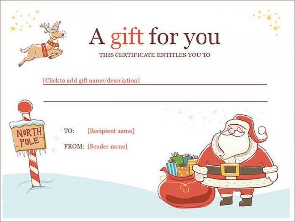Gift Certificate Template Word For Free Download  Free Voucher Template Word