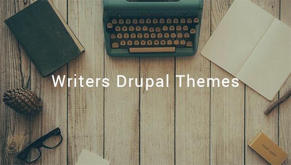writers drupal theme
