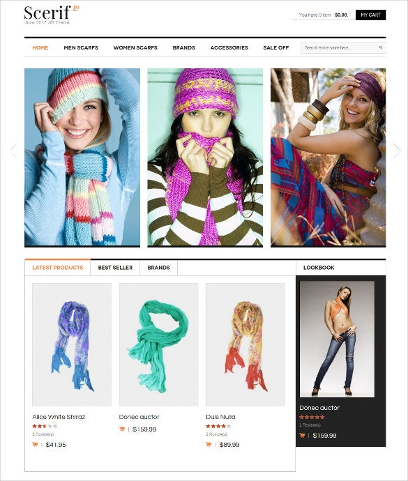 splendid fashion sale off magento template