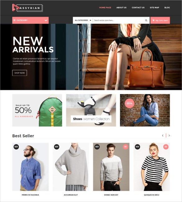 responsive fashion magento theme