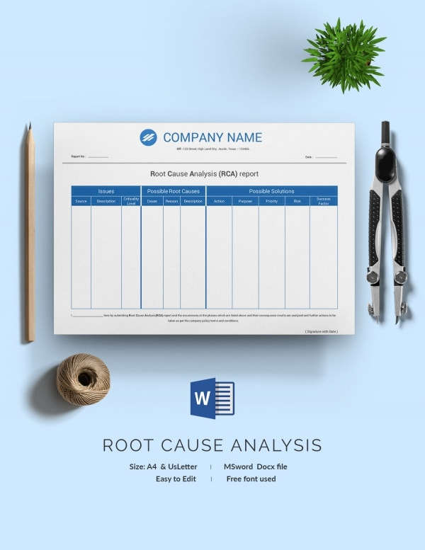 Root Cause Analysis Design