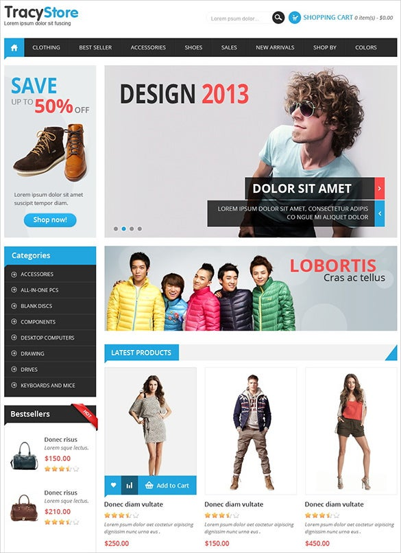 fashion store prestashop templat