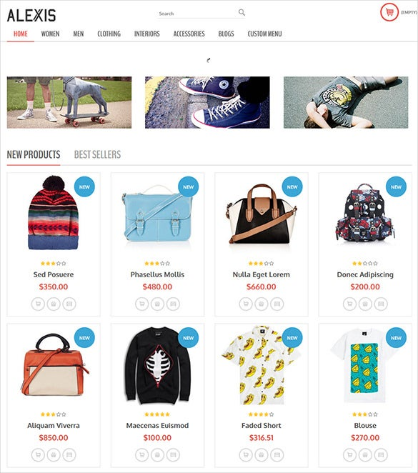 fashion responsive prestashop them