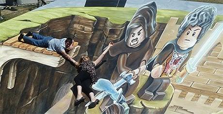 3d street art paintings feature