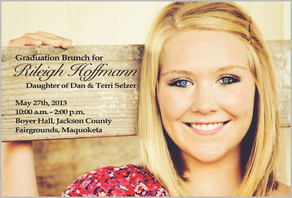 graduation invitation for all