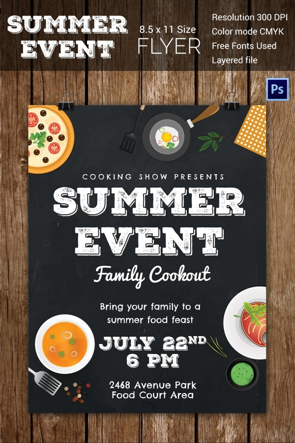 34 Stunning Psd Event Flyer Templates Amp Designs Free