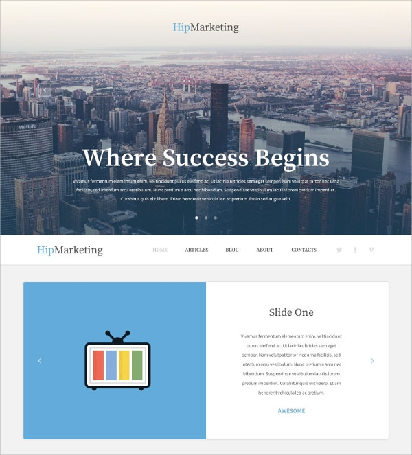 marketing agency sales page wordpress theme 45