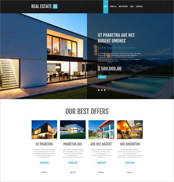 realtor services sales page wordpress theme 45