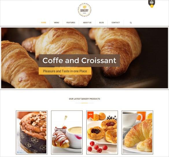 responsive bakery magento theme