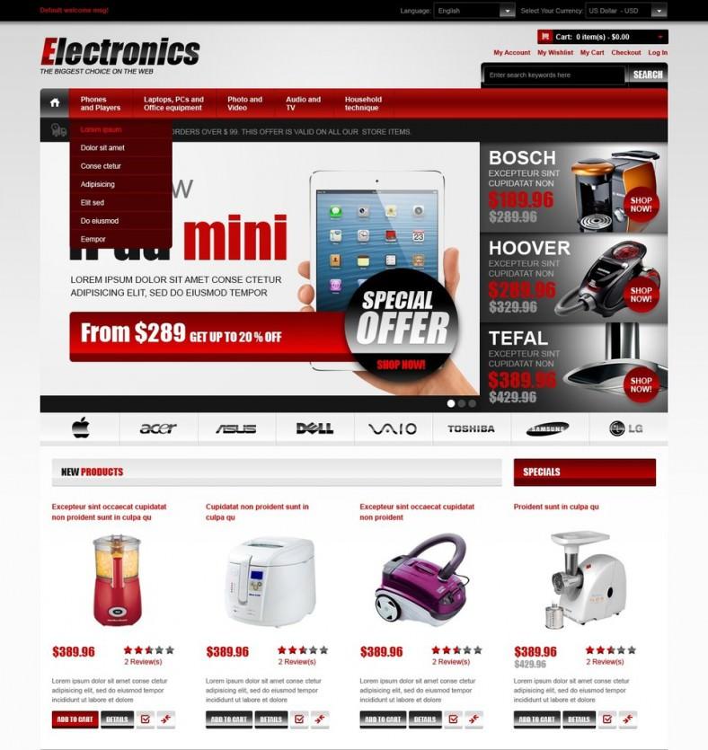 Electronics Magento Theme