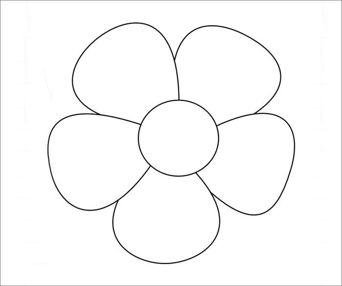 55fabric flower template1