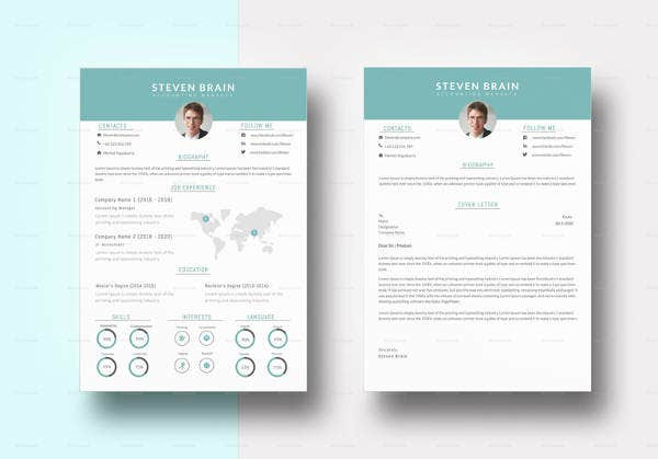Accounting Manager Resume Template