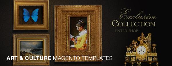 Art & Culture Magento Templates