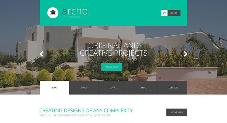 Design Parallax Wordpress Theme