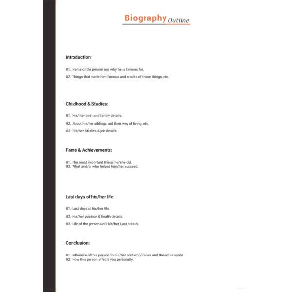 artist-biography-outline-template