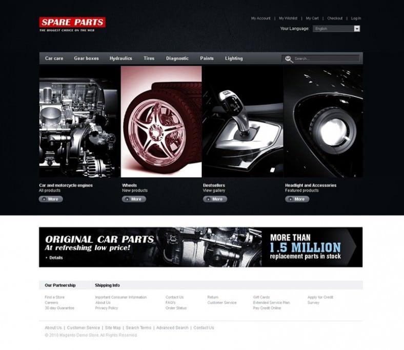 auto parts online store magento theme 788x683
