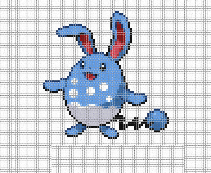 azumarill template free download
