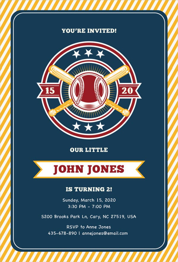 baseball-invitation-template