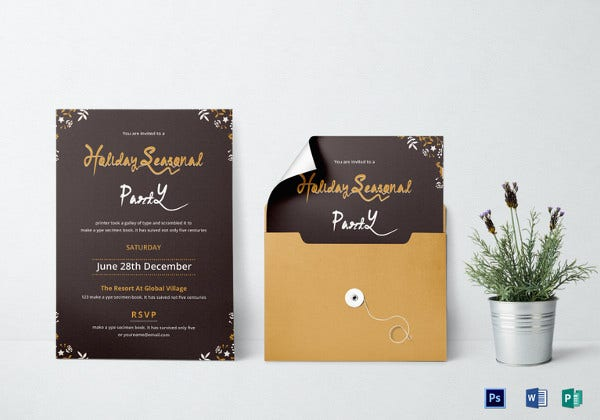 beautiful-holiday-party-invitation-template