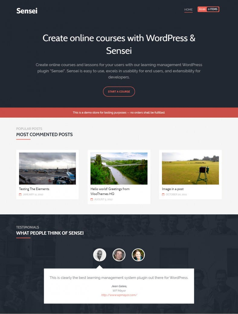 Best LMS WordPress Theme