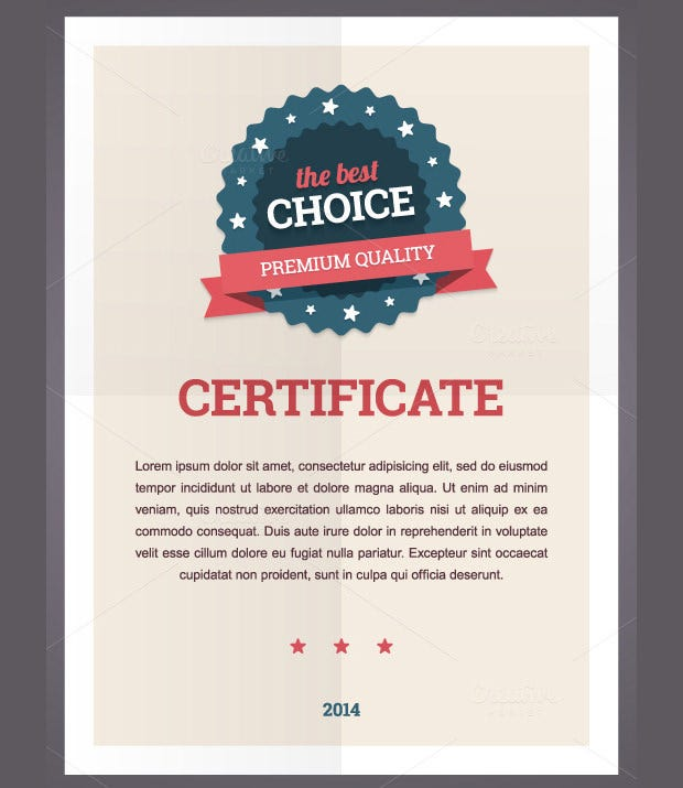 Award certificate template 25 word pdf psd format download appreciation award certificate template yadclub Choice Image