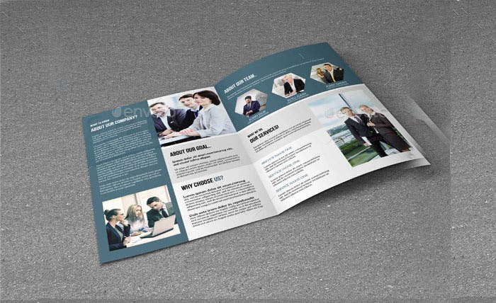bifold brochure for business v1611