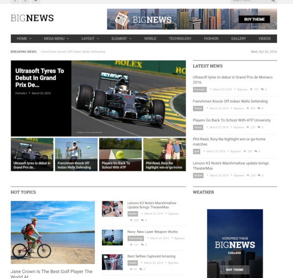 bignews newspaper magazine wordpress