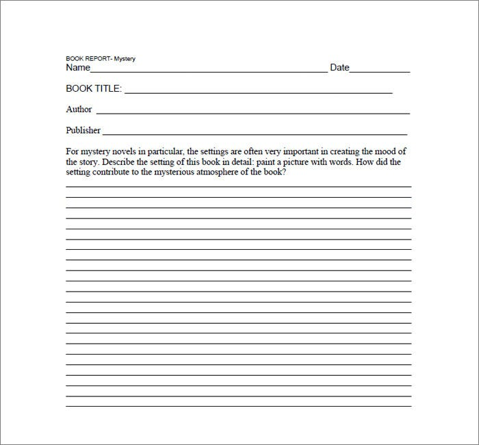 Printable Book Report Forms Elementary Book And Book Reports Sample Book  Report Forms Free Documents In  Printable Book Report Forms