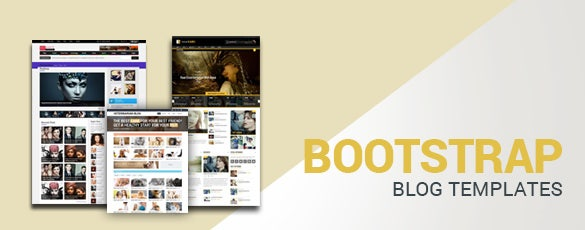 Bootstrap Blog Templates