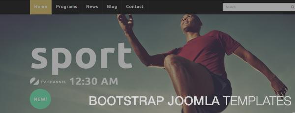 Bootstrap Joomla Templates