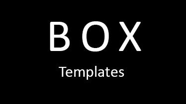 boxtemplates