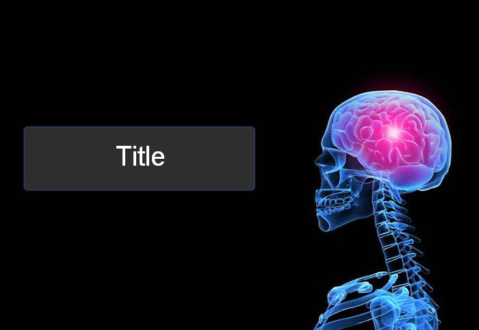 brain power point template