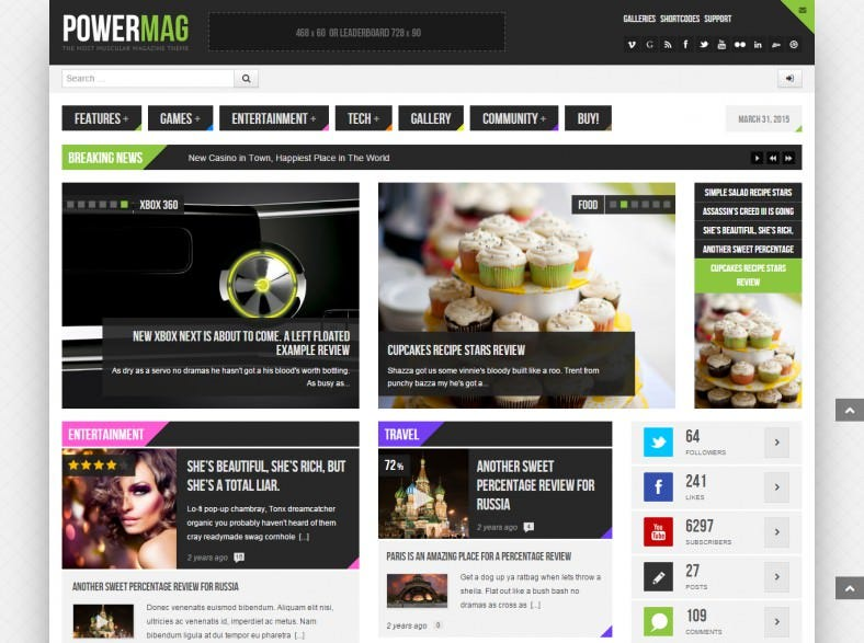 buddypress magazine theme 788x587