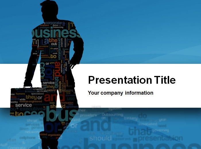 business cloud powerpoint template