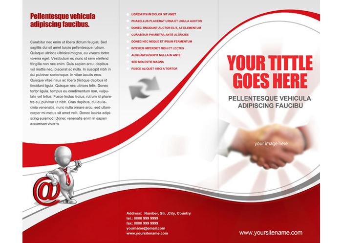 Tri fold brochure template 45 free word pdf psd eps for Free trifold brochure templates