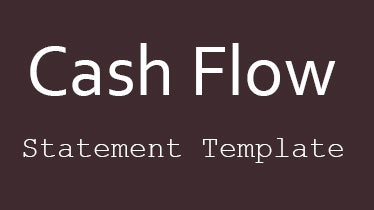 cashflowstatementtemplate