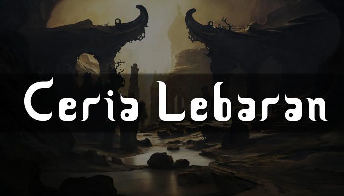 Ceria Lebaran