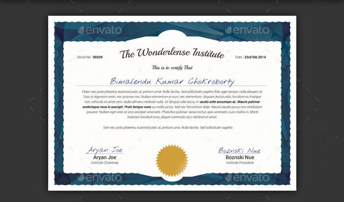 84 psd certificate templates free psd format download