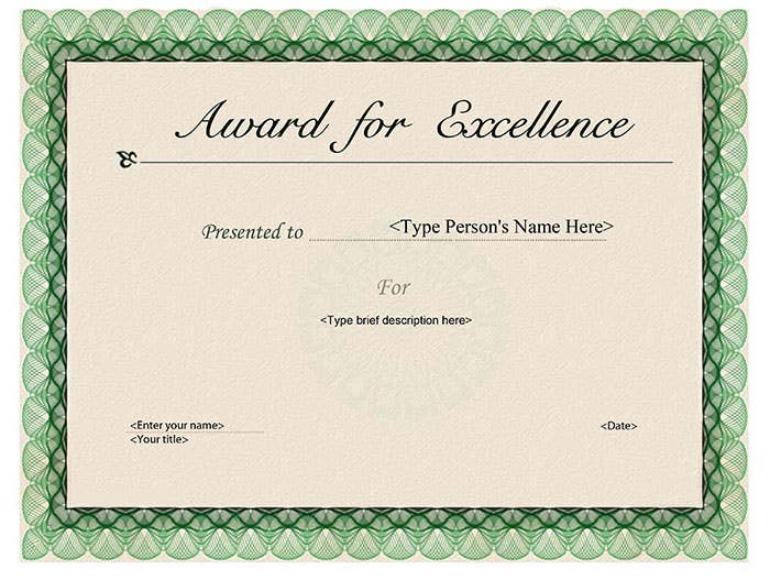 30 Free Printable Certificate Templates to Download – Template Certificate of Achievement