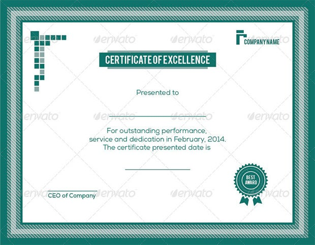 Award certificate template 39 word pdf psd format download excellence award certificate template yadclub Image collections