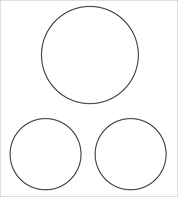 Large venn diagram printable two circle diagram elsavadorla for Circle templates to print