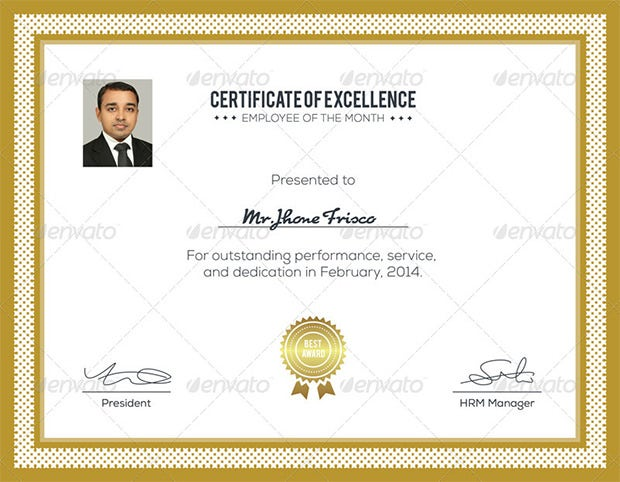 Award Certificate Template 25 Word PDF PSD Format Download – Performance Certificate Template