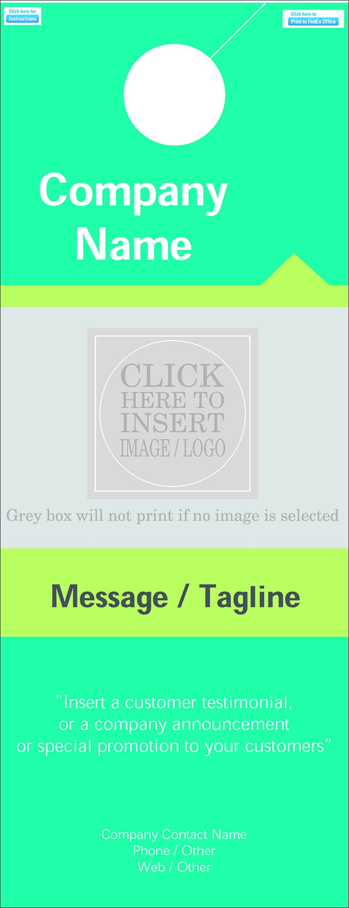 Consulting Services Door Hanger Template   Great Consulting Services Door Hanger Template Pictures Coupon