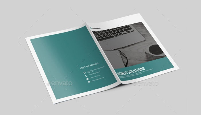 corporate brochure design - 36 psd company brochure templates designs free