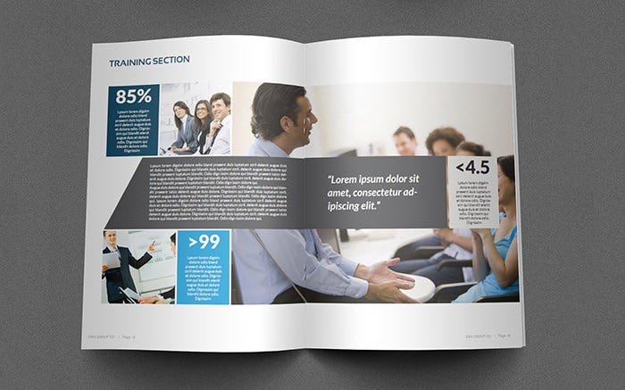 corporate brochure template vol